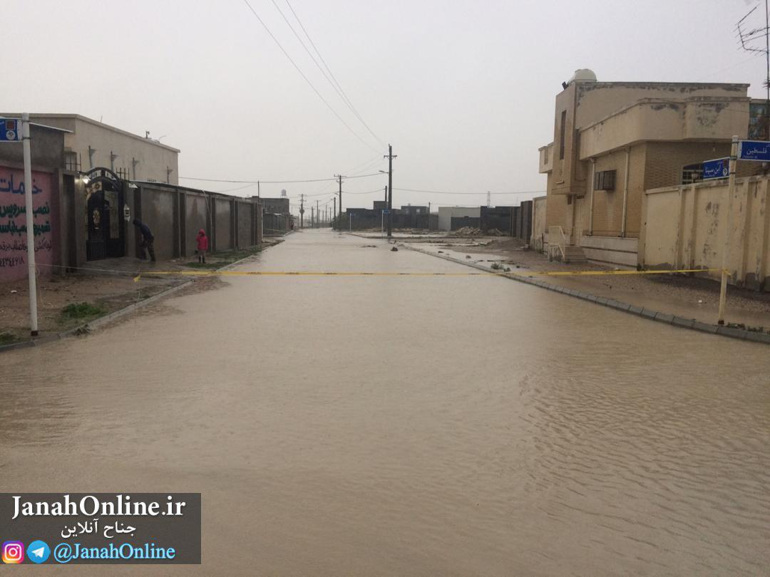 آرشیو تصاویر ارسال شده به جناح آنلاین طی باران ۲۶آذر۹۸