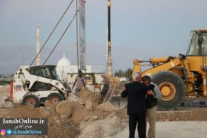 گزارش تصویری از روند ساخت سایت اداری جناح و بخش تکمیلی بلوار فاروق