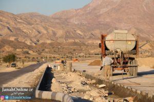 پروژه بزرگ احداث بلوار فاروق عباسی از شهر جناح تا روستای کهتویه