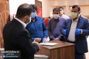 بازدید مدیرعامل توزیع برق هرمزگان و نماینده مردم غرب استان از پروژه های حوزه برق منطقه جناح