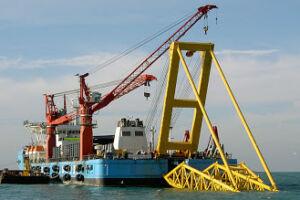 آغاز احداث خط لوله دریایی انتقال گاز گرزه – کیش؛ از فردا
