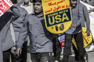 گزارش تصویری؛ راهپیمایی ۱۳ آبان ماه در جناح برگزار شد