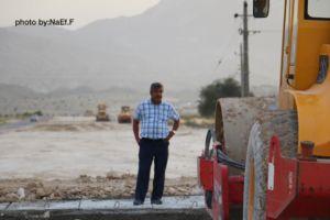 عملیات احداث ادامه بلوار فاروق عباسی تا روستای کهتویه