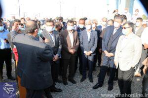 گزارش تصویری؛ سفر جامع هوایی و زمینی وزیر راه و شهرسازی به غرب هرمزگان با بازدید از منطقه جناح ادامه یافت