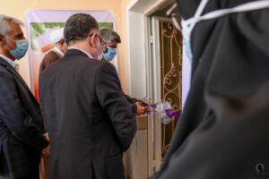 همزمان با سراسر کشور؛ افتتاح متمرکز ۳۴ واحد مسکونی مددجویان بهزیستی هرمزگان در شهر جناح