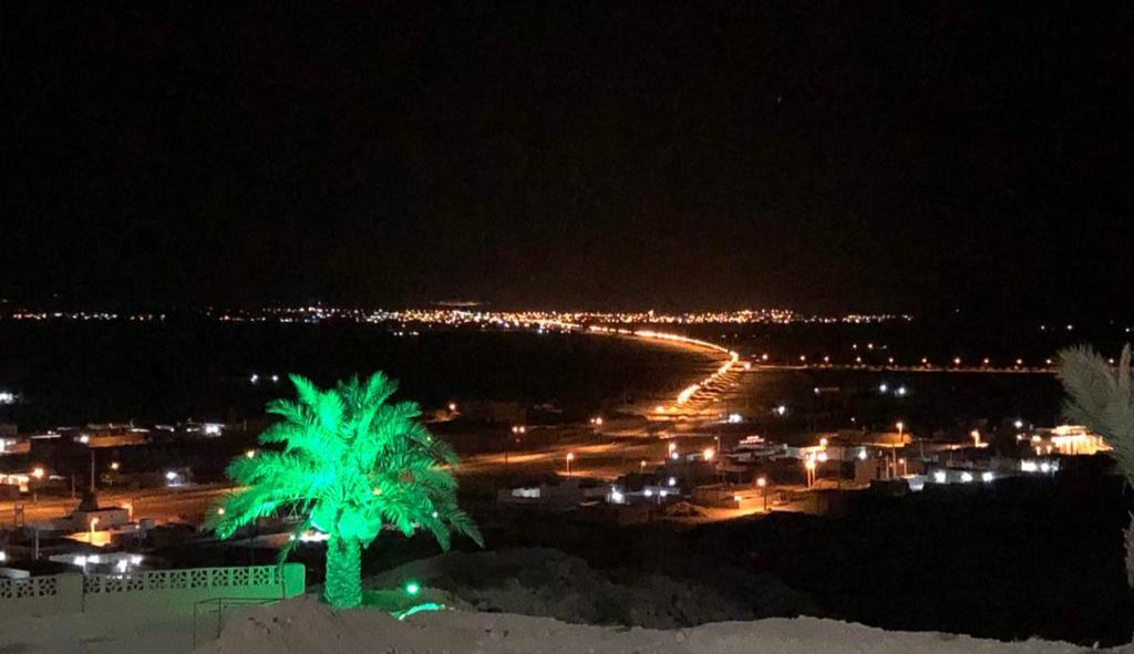 پروژه بزرگ روشنایی بلوار فاروق عباسی از جناح تا کهتویه به پایان رسید